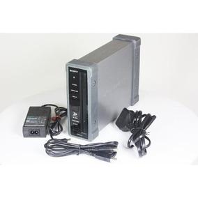 Gravador Xd Cam Pdw U1 Sony Com 12 Discos