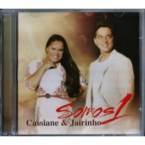Cd Cassiane E Jairinho Somos 1 Mk .biblos