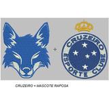 Matriz Bordado Computadorizado Cruzeiro + Mascote (2 Un.)