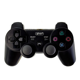 Controle Bluetooth Ps3 Dualshock Original Knup Kp-4021