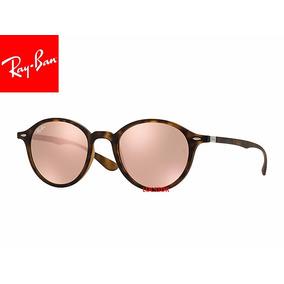 e7ab18060e1bb Oculos De Sol Rayban Rb4237-50-894 z2 Round Liteforce Marro