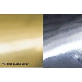 10 Cartulina Metalizada Espejo 270g 47x69.5 Cm, Oro O Plata