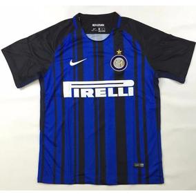 b54f0c3b44 Camisa Da Inter De Milão 2017 18 (personalizada)