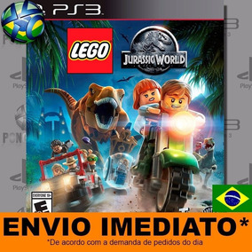 Jogo Psn Lego Jurassic World Psn Play 3 Pt Br Mídia Digital
