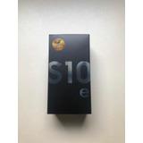 Galaxy S10e Novo Com Nota Fiscal