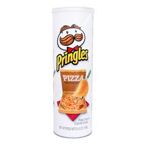 Papas Pringles Sabor A Pizza 158 Gr.