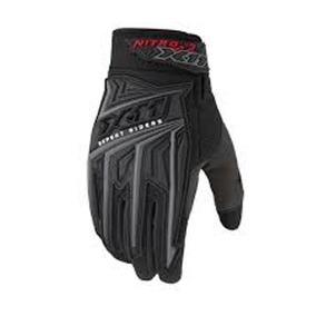 Luva Motocross X11 Nitro 3 Cano Curto Preta Motociclista