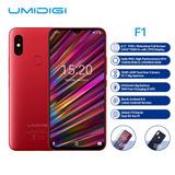 Umidigi F1 Teléfono Móvil Android 9.0 4g/128gb Rojo