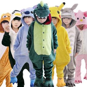 Pijama Animales Enteros- 4 A 12 Años- Niños Niñas Kigurumi
