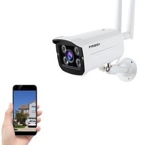 Câmera Ip Externa S/ Fio Wifi Hd 2 Antenas Microfone Infrave