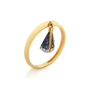 175b0514ea331 Anel De Ouro Com Diamantes Nossa Senhora - Joias e Bijuterias no ...