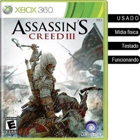 Assassins Creed 3 Xbox 360/one Usado