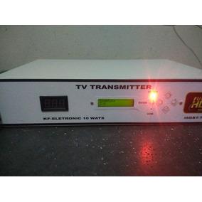 Transmissor De Tv Digital 10 Wats Uhf Kit Completo, Isdb-tb