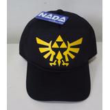 3e2067e0eba Boné Tela Silk The Legend Of Zelda Logo Triforce Games