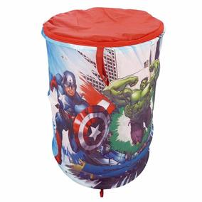Porta Brinquedos Objetos Avengers Vingadores Meninos