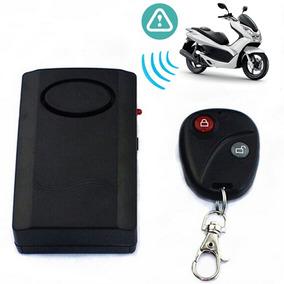 Alarme Para Moto, Bicicleta , Por Vibração - Controle Remoto
