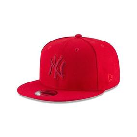 New Era Yankees Mlb Gorra Pop League Roja Snapback Nueva 043ec7dc5e7