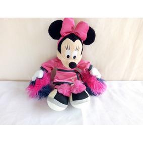 Pelucia Minnie Mouse Lider De Torcida Disney Disneyland