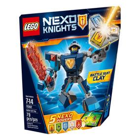 Clay Con Armadura De Combate Lego - 70362
