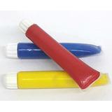 Acrilicos. Rojo, Azul Y Amarillo