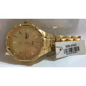 2b244ca859e Relogio Vip Dourado - Relógios De Pulso no Mercado Livre Brasil