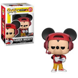 Funko Pop - Mickey 90th - Gamer Mickey #471 - Nuevo