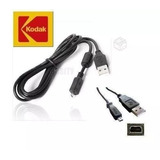 Pack 3 Cable Usb Datos Camara Kodak