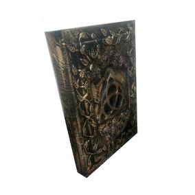 Grimorio Wicca Celta Livro Das Sombras C/ Trava Para Cadeado