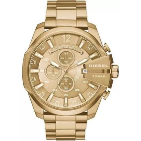9ff8fa4d25f Relógio Diesel Dz4268 Cronógrafo Dourado - Joias e Relógios no ...