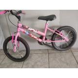 Bicicleta Infantil Feminina (aro 16)