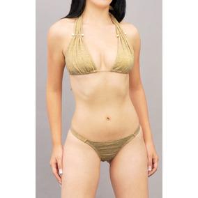 Traje De Baño Tanga Brasileño Bikini Playa Pareo Trajes 2