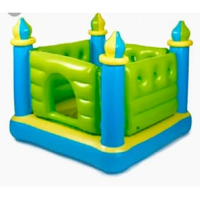 Castelo Verde Pula Pula Inflável Intex