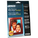 Papel Fotografico Epson Ultra Preminu Glossy 5x7 297g/m2 20u