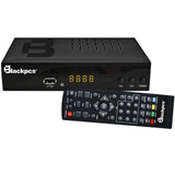 Decodificador Tv Hdmi Usb Coaxial Metal Blackpcs E010alum-bl
