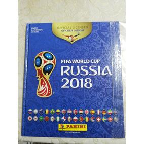 Álbum Copa Do Mundo 2018 Vazio Capa Dura