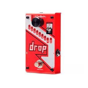 Pedal Digitech The Drop Polifônico P/ Guitarra C/ Fonte