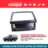 Porton Trasero Ssang-yong Musso 1998 99 00 01 02 03 04 2005