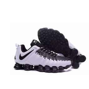 5eb2a05b61 Nike Shox R4 Branco E Rosa Cromado - Tênis no Mercado Livre Brasil