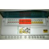 String Box Ip40 3:3 600v 3 Dps 6 Fusiveis Gpv 3 Disjuntor