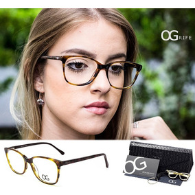 Armação Oculos Grife Og 80 F P  Grau Aluminio Sport Original ... e93694376b