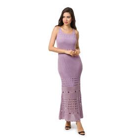 6720055a3 Vestido Mullet Bege - Vestidos Femininas Lilás no Mercado Livre Brasil