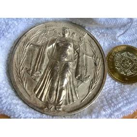 12ce8cdc5169 Medalla Plata 3 Onzas Universidad Aniversario 1922 Mexico
