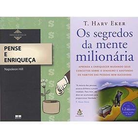 Pense E Enriqueça Livro Napoleon Hill + Segredos Da Mente