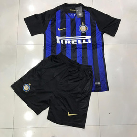 ca34539d95 Kit Camisa + Short Inter De Milão 18 19 - Preço Especial!