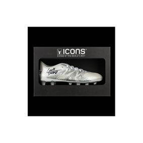Luis Suárez Autografió En Blanco Y Plata adidas X 15.4 Boot