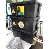 Lombricompostero Para Tratar Residuos De Cocina Y Jardín