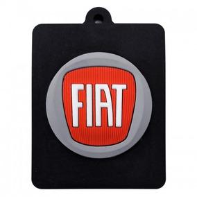 Kit 20 Chaveiro Emborrachado Fiat - Frete Grátis