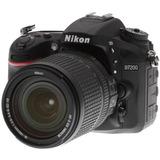 Nikon D7200 18-140mm 32gb Estuche