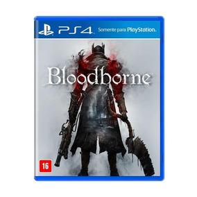 Bloodborne Ps4 Em Português Mídia Física + Pôster Brinde