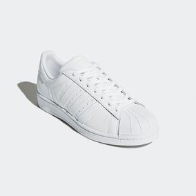 quality design 3a7f9 5e3d2 adidas Superstar Blancas Cuero